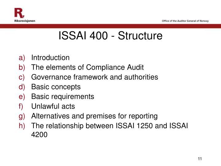 ISSAI 400 -