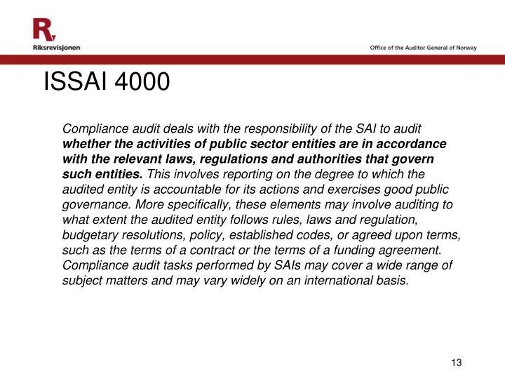 ISSAI 4000