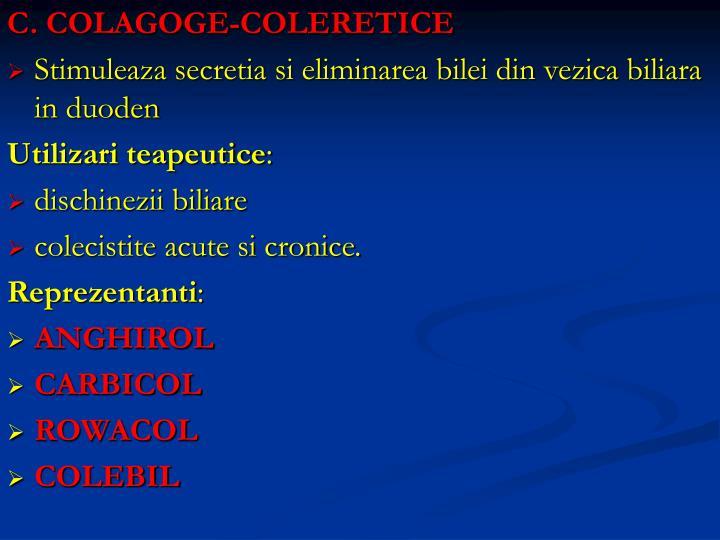 C. COLAGOGE-COLERETICE