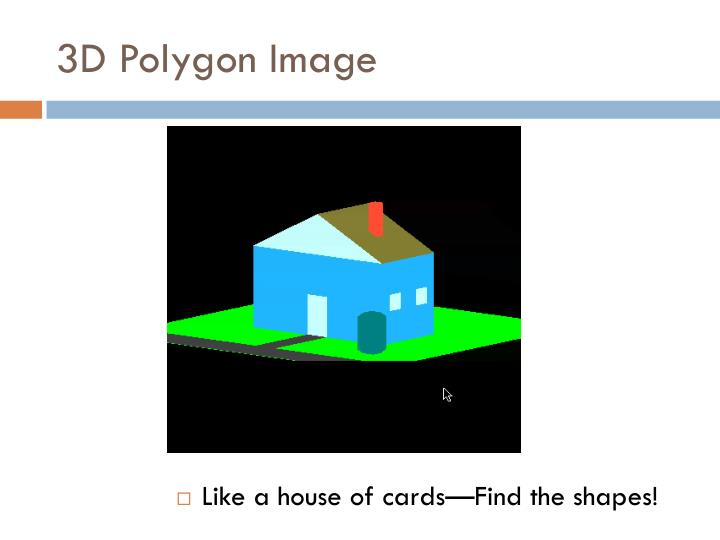 3D Polygon Image