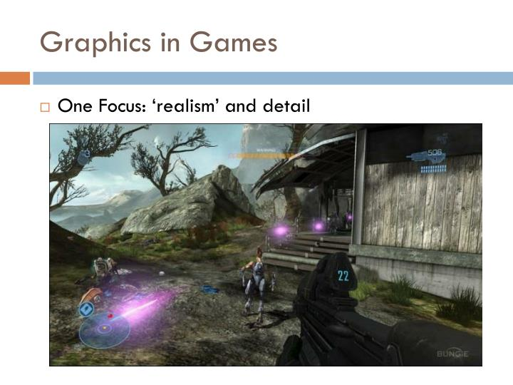 Graphics in Games