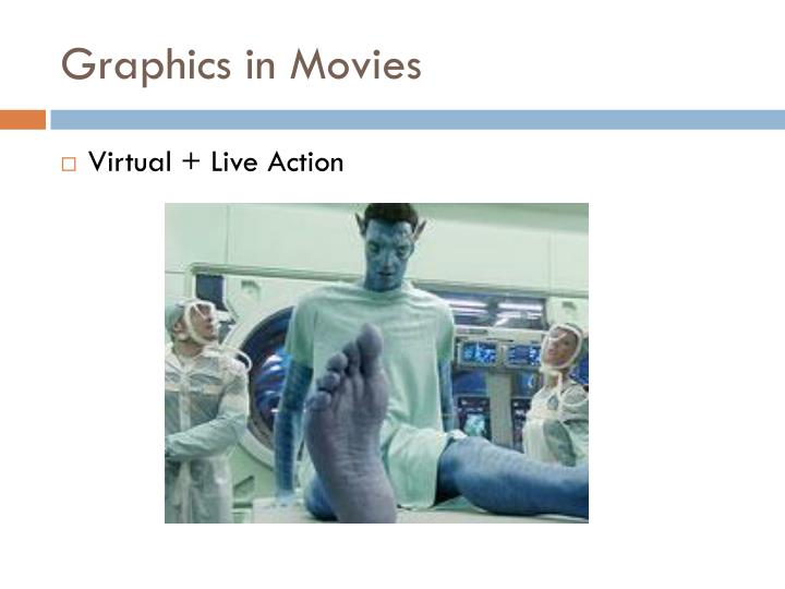 Graphics in Movies