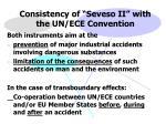 consistency of seveso ii with the un ece convention
