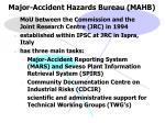 major accident hazards bureau mahb