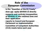 role of the european commission