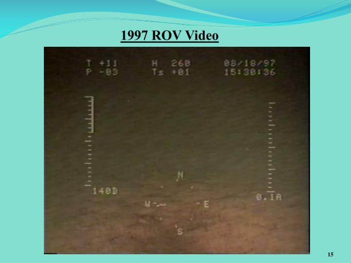 1997 ROV Video