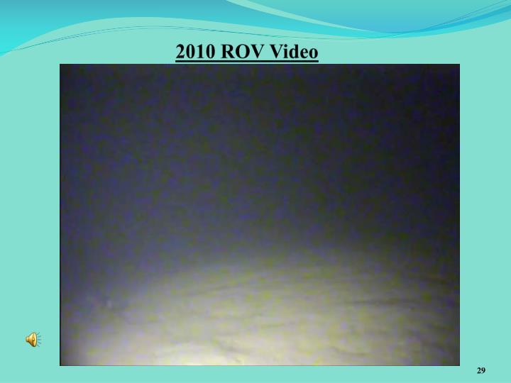 2010 ROV Video