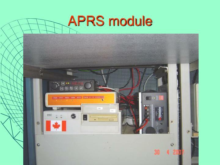 APRS module