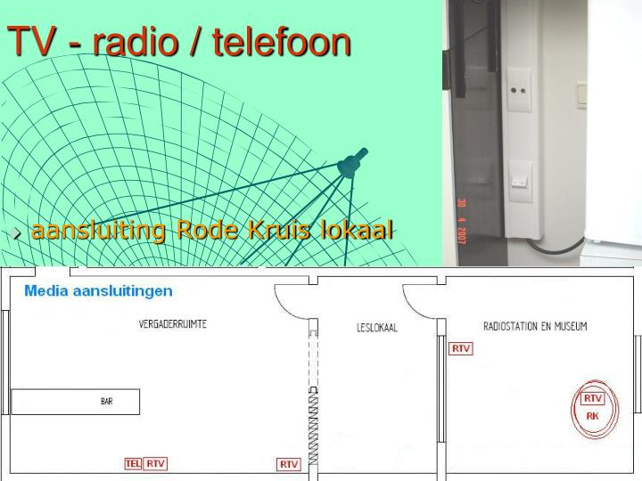 TV - radio / telefoon