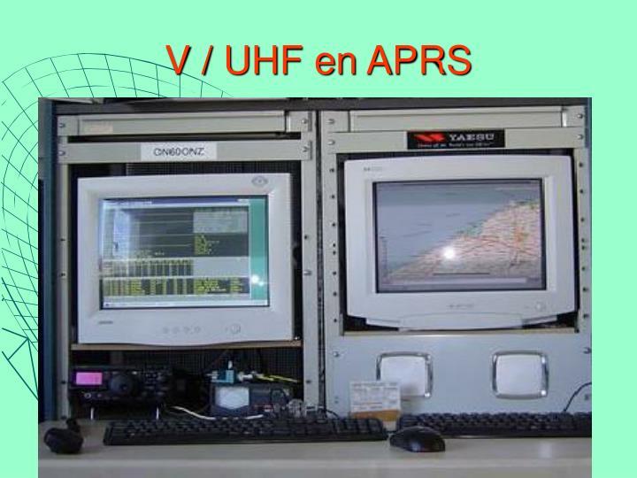 V / UHF en APRS