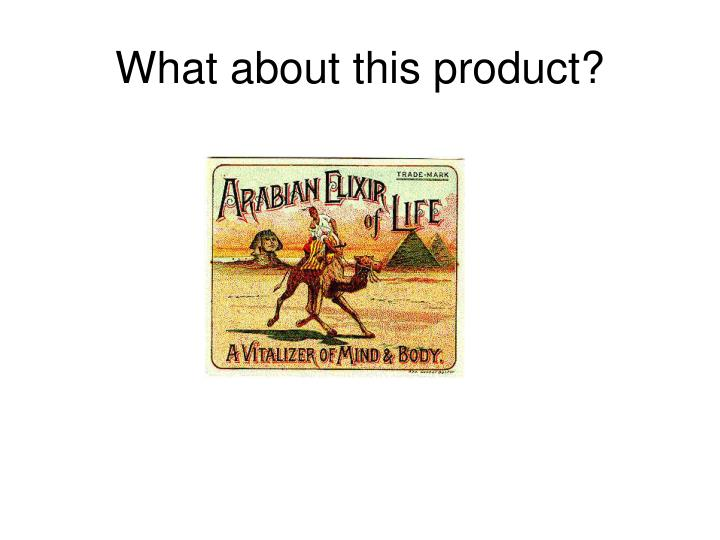 What about this product?