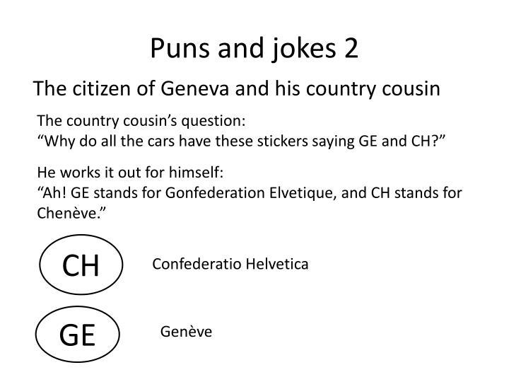 Puns and jokes 2