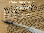 three branches of government1