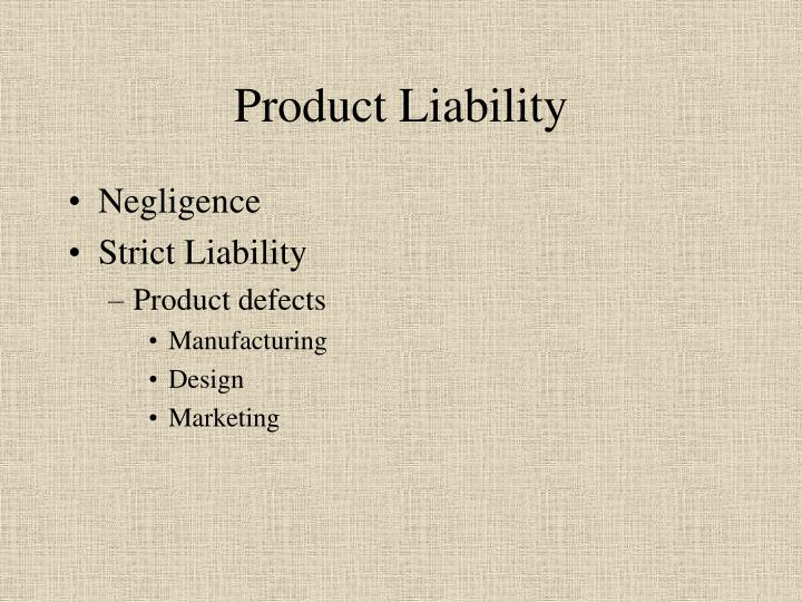 Product liability1