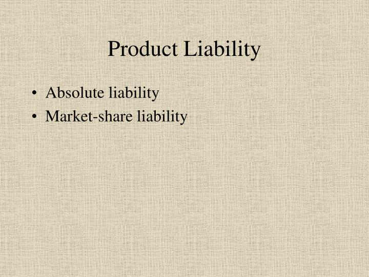 Product liability2