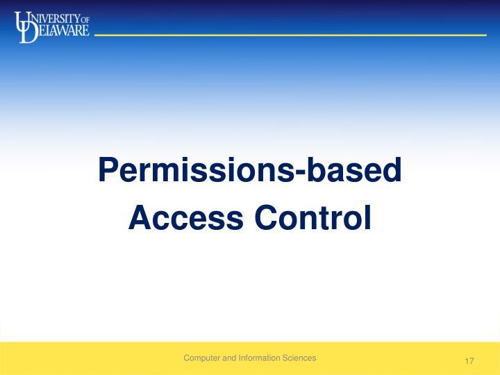 Permissions-based