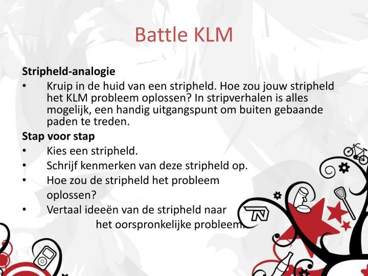 Battle KLM