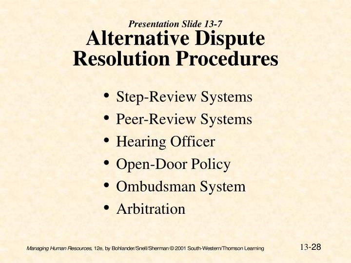 Presentation Slide 13-7