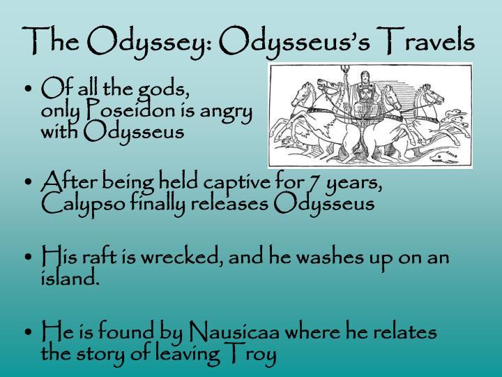 The Odyssey: Odysseus's Travels