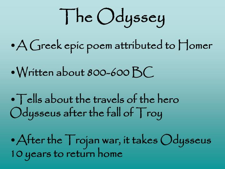 The odyssey1