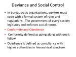 deviance and social control1