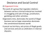 deviance and social control10