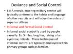 deviance and social control2