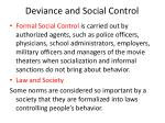 deviance and social control3