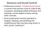 deviance and social control9