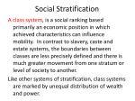 social stratification6