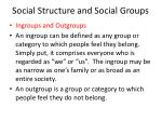 social structure and social groups17