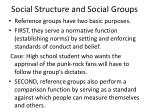 social structure and social groups20