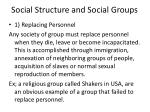 social structure and social groups25