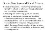 social structure and social groups27