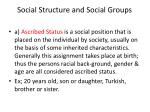 social structure and social groups3