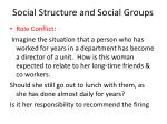 social structure and social groups9