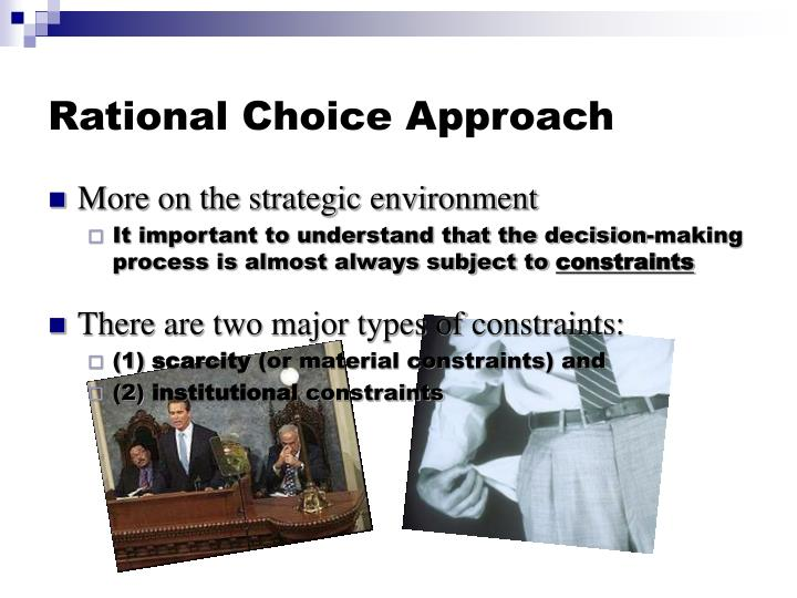 Rational Choice Approach