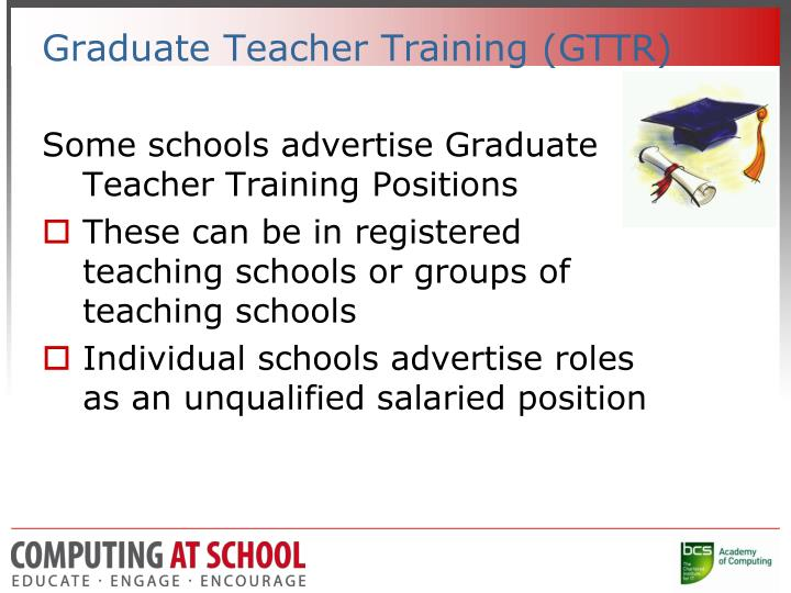 Graduate Teacher Training (GTTR)
