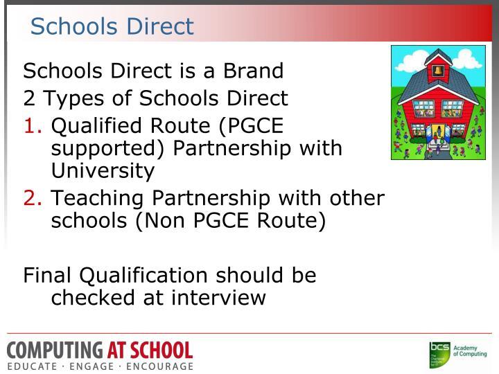 Schools Direct