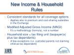 new income household rules