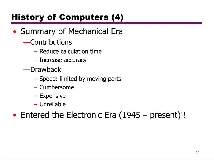 History of Computers (4)