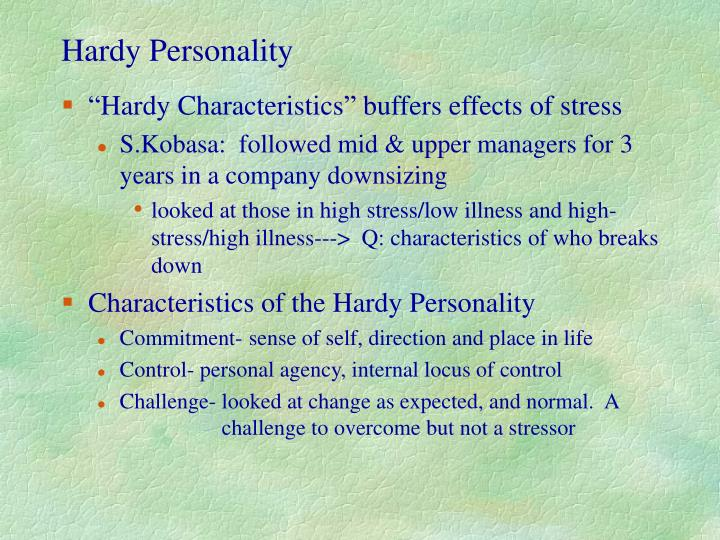 Hardy Personality