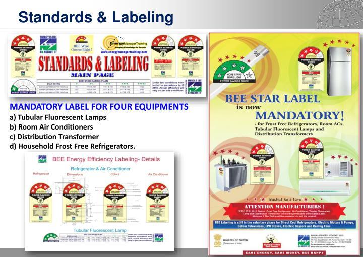 Standards & Labeling