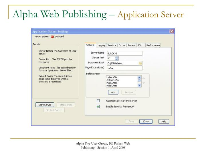 Alpha Web Publishing –