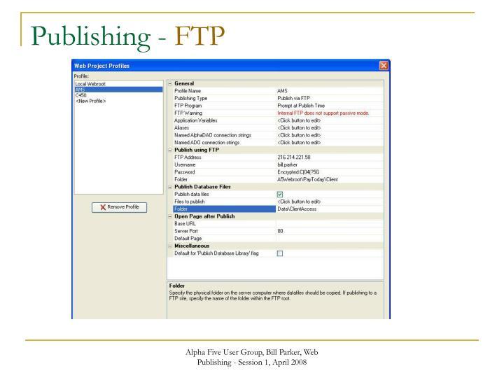 Publishing -
