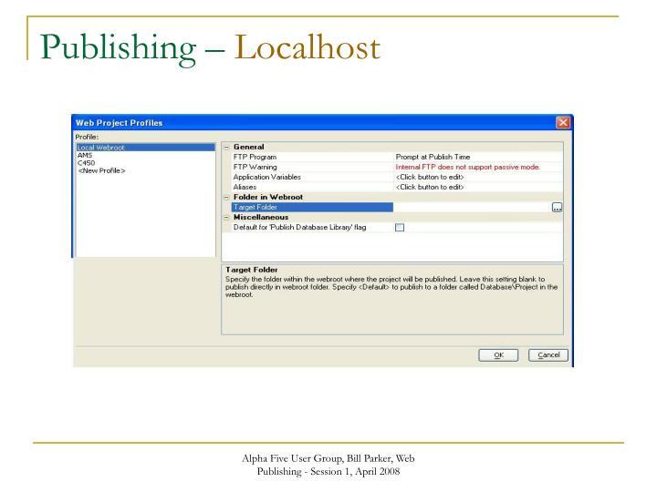 Publishing –