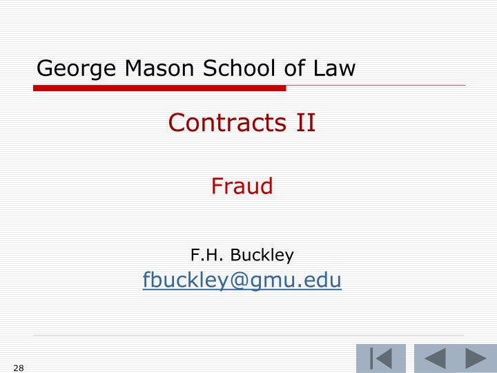 George Mason School of Law