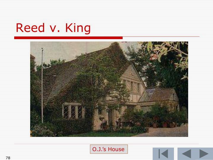 Reed v. King