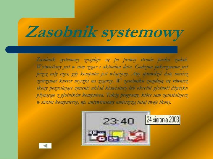 Zasobnik systemowy