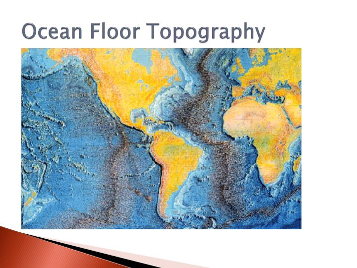 Ocean Floor Topography